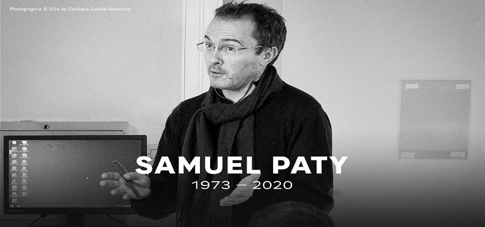 L'association Éclat rend hommage à Samuel Paty - Association ECLAT